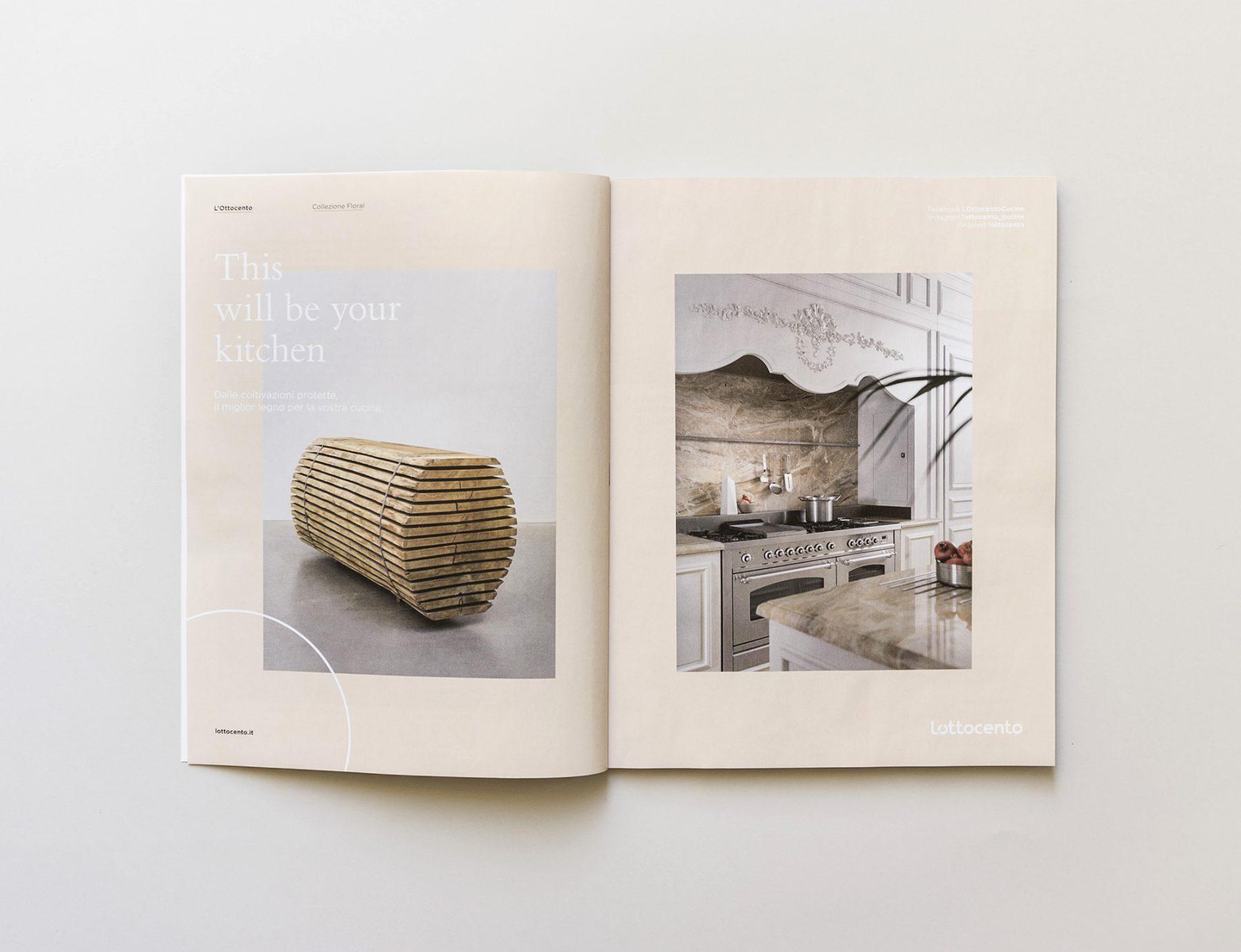 L\'Ottocento - Cucine artigianali in legno su misura