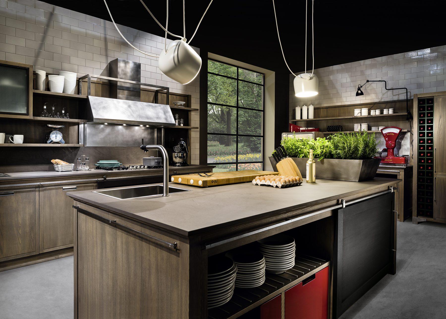 Cucina Industrial Chic - La cucina elegante con carattere | L\'Ottocento