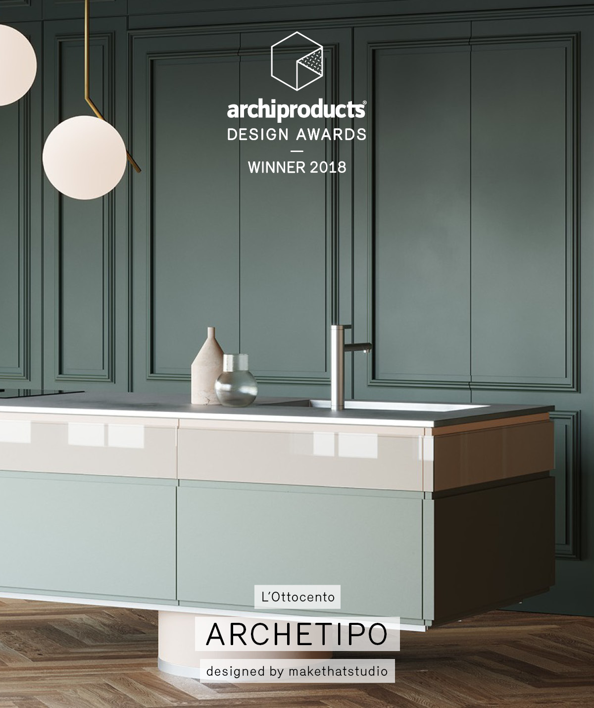 Archetipo Kitchen awarded with 2018 Archiproducts Design Awards - L ...