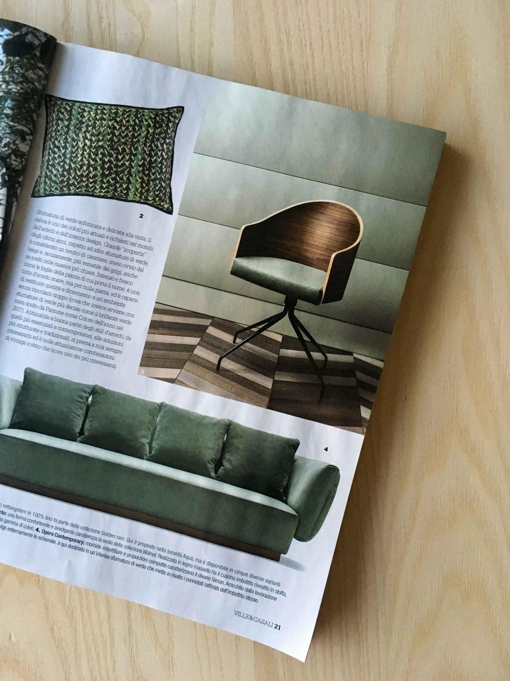 Arredamento Per Casali green is the new design trend - l'ottocento