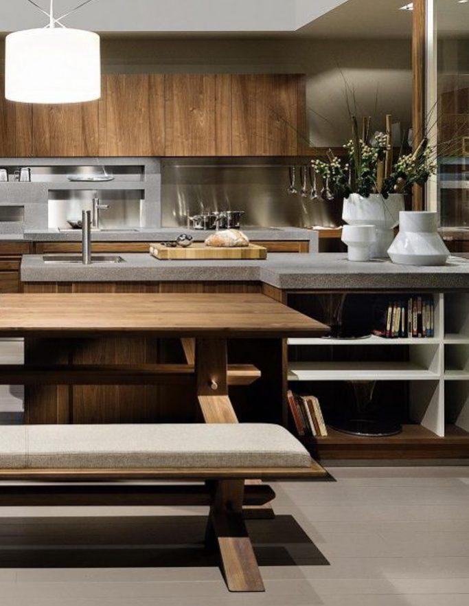 Cucina Canaletto - Cucina moderna in legno massello | L\'Ottocento