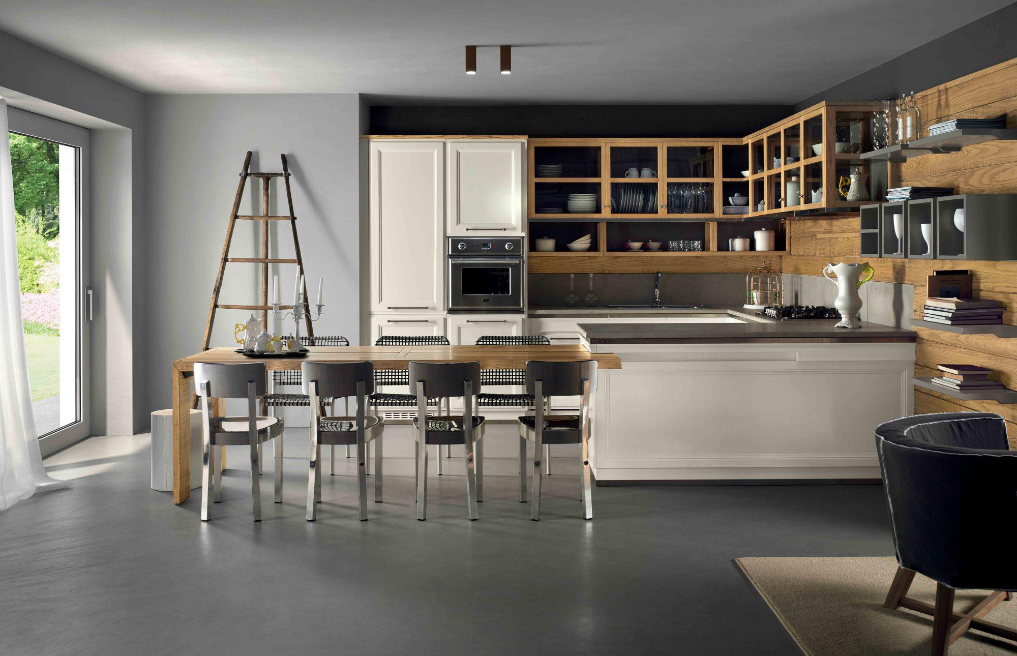 Cucina Living Design - La cucina classica intramontabile | L ...