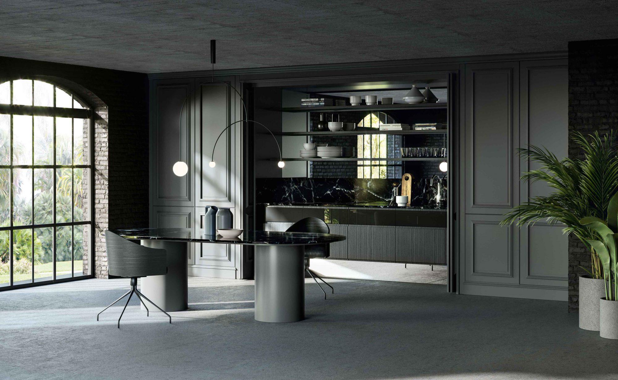 Boiserie Da Cucina : Cucina archetipo una cucina moderna con boiserie lottocento