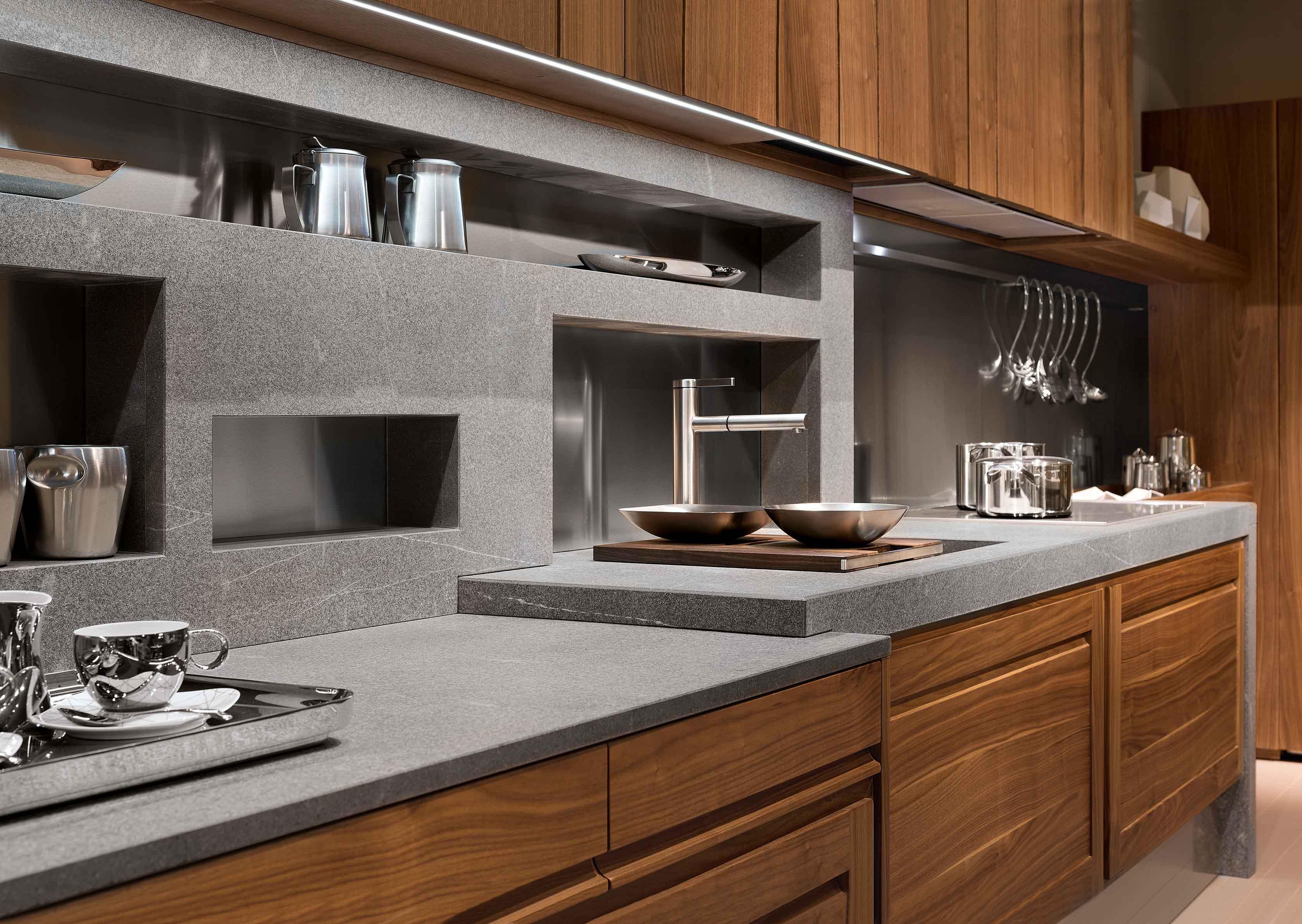 Cucina Canaletto - Cucina moderna in legno massello | L ...