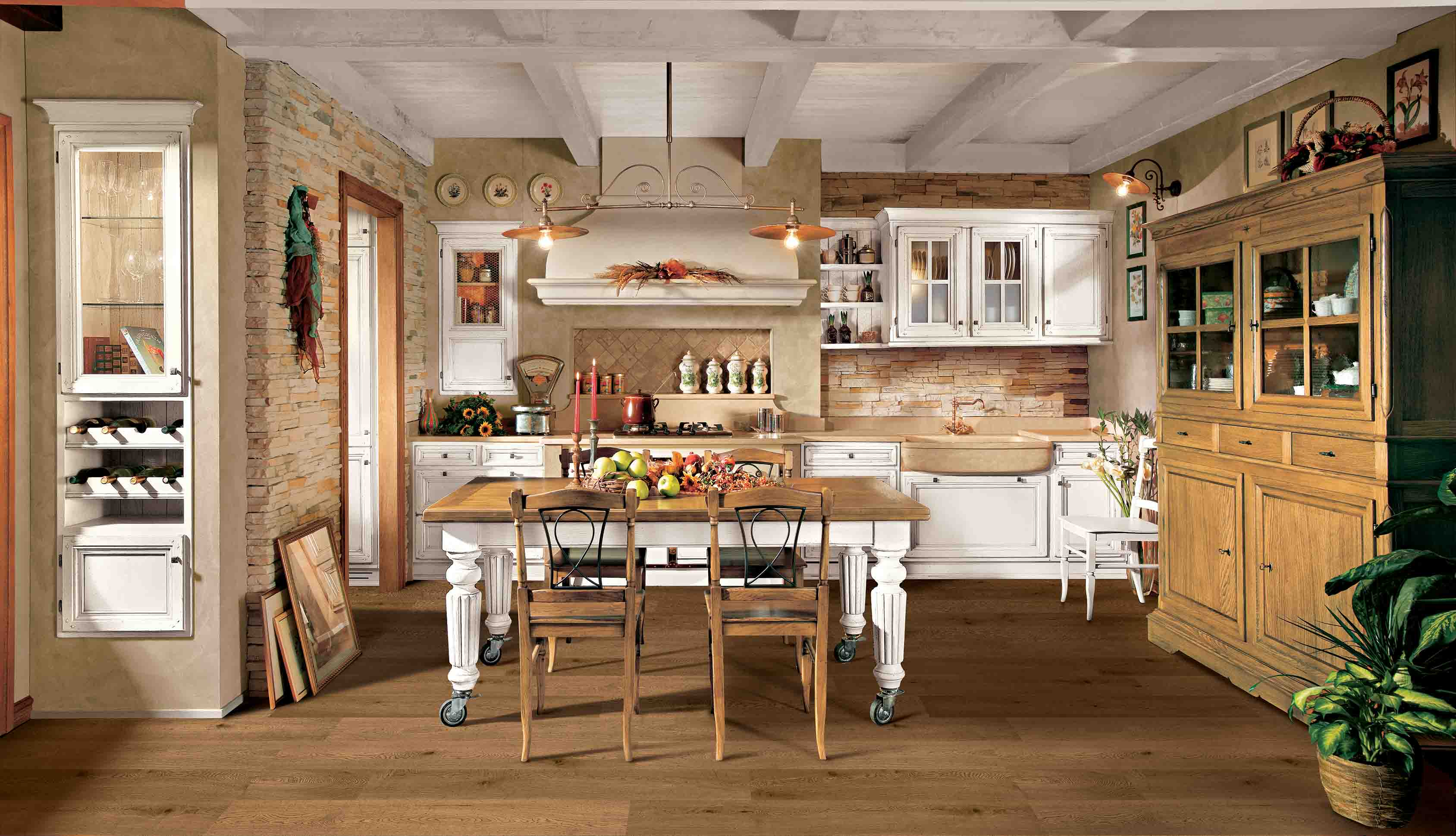 Cucina Old Style - La cucina country intramontabile | L ...