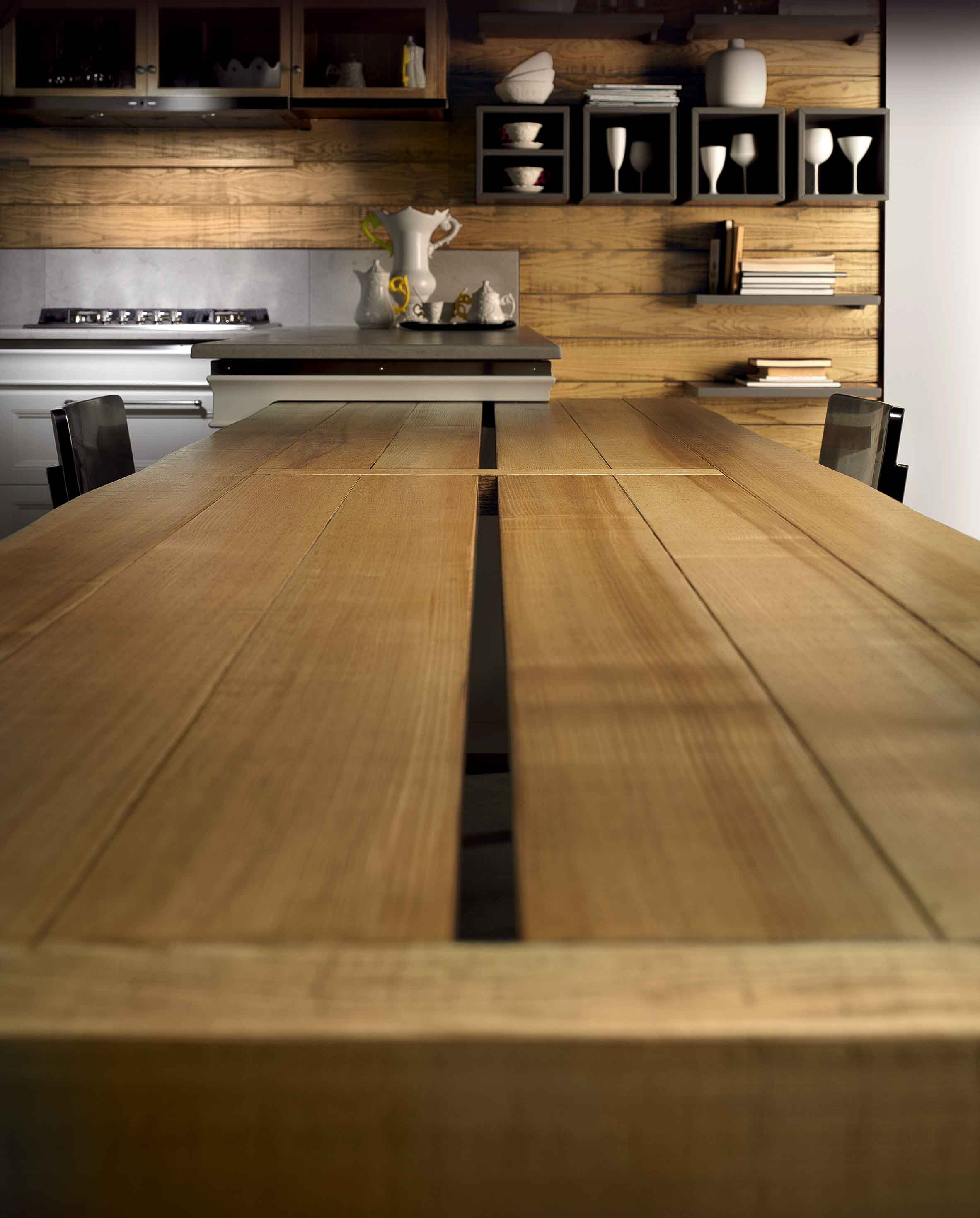 Cucina Living Design - La cucina classica intramontabile | L\'Ottocento