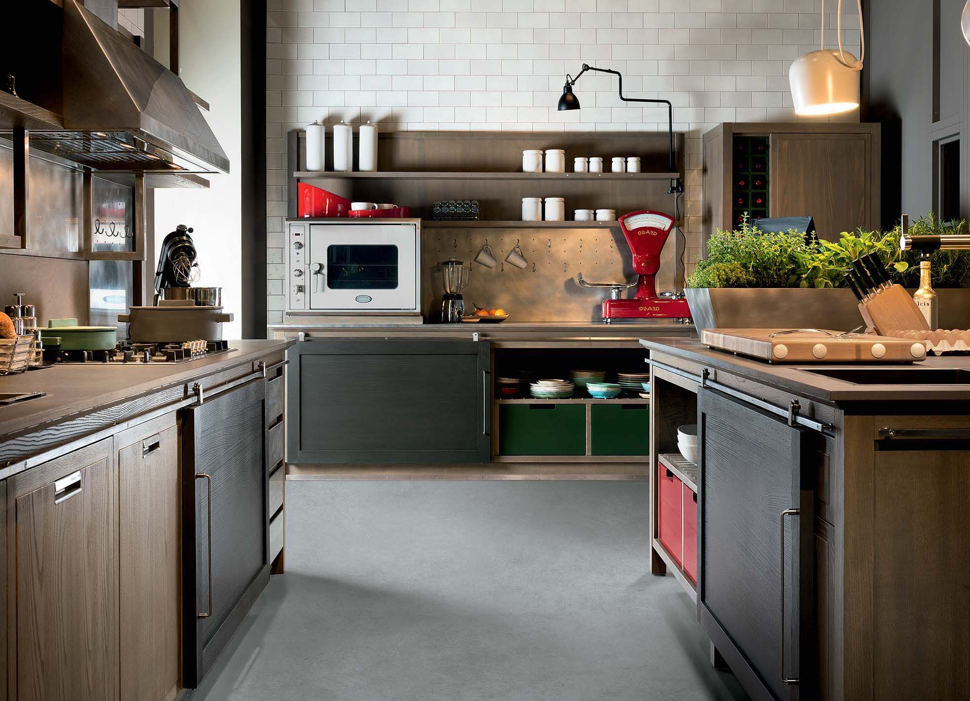 Cucina Industrial Chic - La cucina elegante con carattere ...