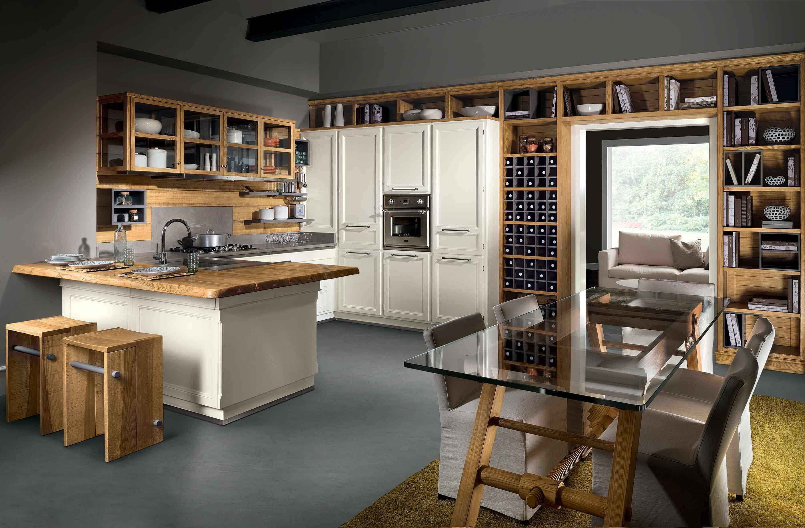Cucina Living Design - La cucina classica intramontabile   L\'Ottocento